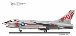 F-8 CRUSADER VF-142