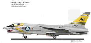 F-8 CRUSADER VF-32 58