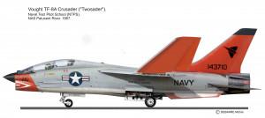 F-8 Crusaqer Bi TPS