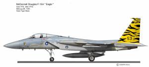 F-15C 53thFS Tigre