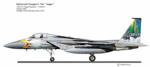 F-15C  Oregon