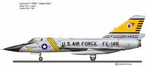 F-106A 456 FIS