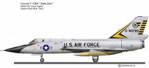 F-106A 460 FIS