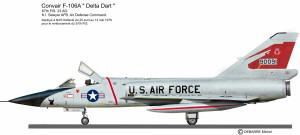 F-106A 87thFIS 2