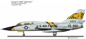 F-106B 27 FIS