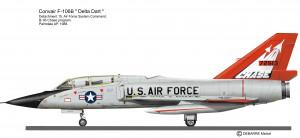 F-106B Chase