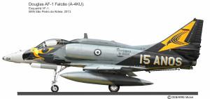 A-4M 15 anos B