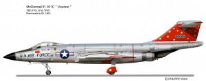 F-101C Voodoo  78thTFS 2