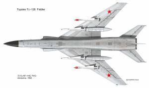 Tu-128 dessous
