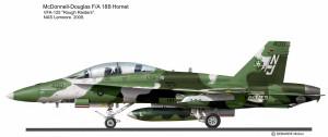 F-18B VFA-125