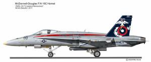 F-18C VMFA-122