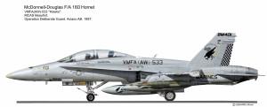 F-18D VMFA-533