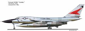 B-58A 43 BW debut