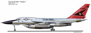 B-58A ARDC 1959