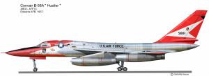 B-58A Edwards Rouge